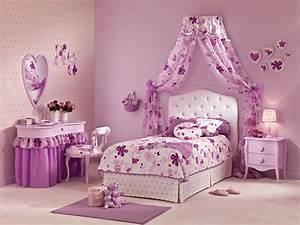 Lit Princesse Fille : lit fille mod le alissia ambiance douce lila piermaria so nuit ~ Teatrodelosmanantiales.com Idées de Décoration