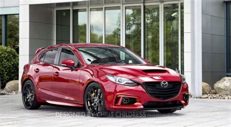 Mazdaspeed 3 Coming In 2017 With Awd!