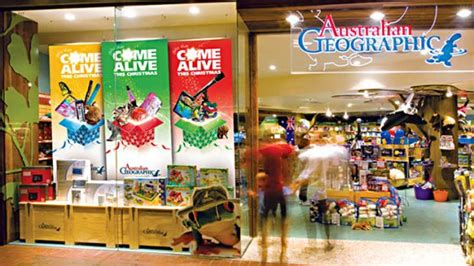 Canberra's Australian Geographic Stores Set To Close