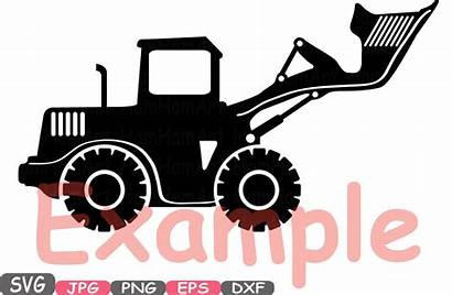 Svg Cars Toy Silhouette Construction Clipart Cutting