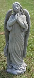 Angel, Statues, -, The, Cement, Barn