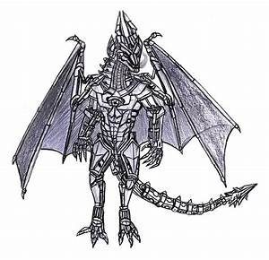 Art Request: Anthro Robot Dragon by Bysthedragon on DeviantArt