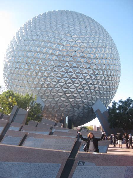 big ball  epcot photo