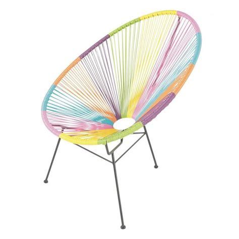 chaise en fil plastique chaise jardin fil plastique ensemble de 2 fauteuils