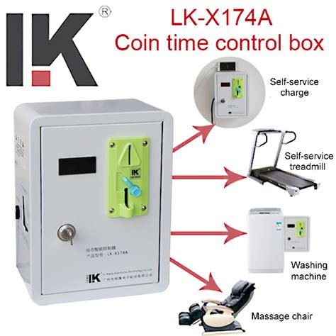 lk x174a coin operated washing machine timer box
