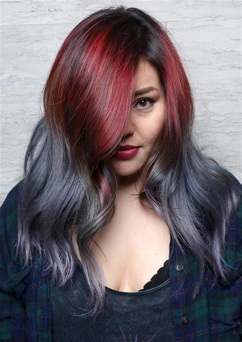 hottest fall hair colors     trends ideas
