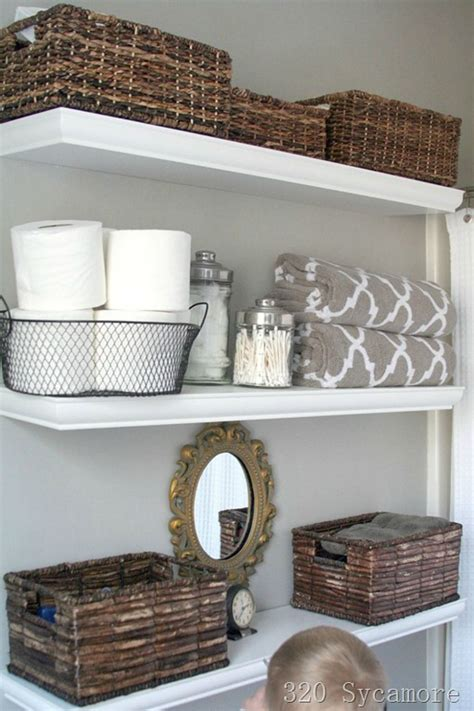 Bathroom Shelves Ideas by 30 Best Bathroom Storage Ideas And Designs For 2017