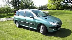Peugeot 206 1 4 Hdi : 2003 peugeot 206 1 4 hdi sw xt estate 50 mpg youtube ~ Gottalentnigeria.com Avis de Voitures