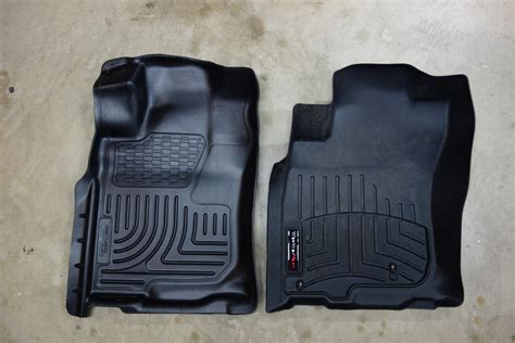 weathertech floor mats vs husky floor mats 2011 floor liners new discussion husky vs weathertech page 12 toyota 4runner forum