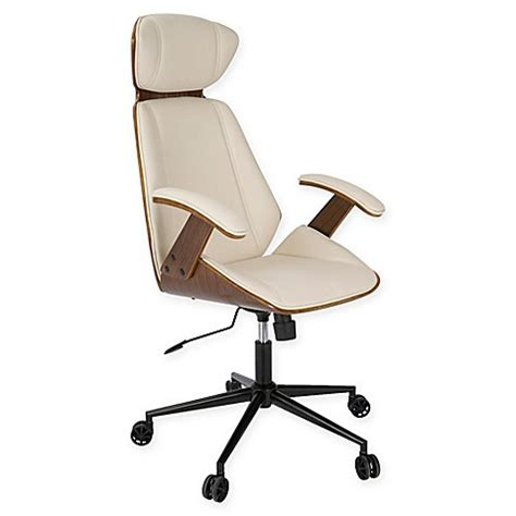 bed bath and beyond desk chair lumisource spectre high back office chair bed bath beyond