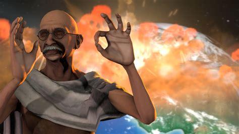 Gandhi goes nuclear