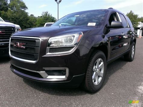 midnight amethyst metallic gmc acadia sle  photo  gtcarlotcom car color