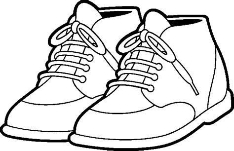 shoe clipart black and white tennis shoes clipart black and white free 5 cliparting