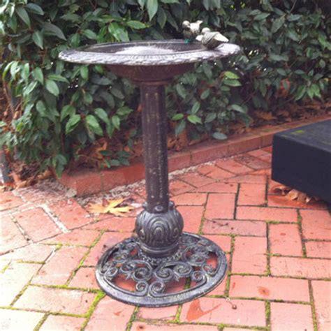 cast iron bird bath price coming soon