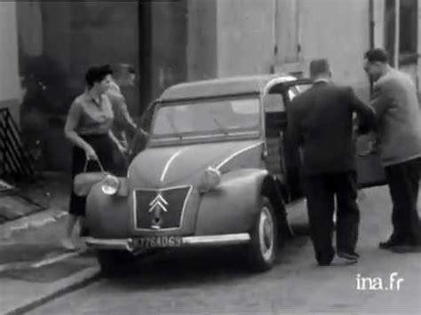 siege edf la 2cv citroen panorama hebdomadaire 24 07 1956
