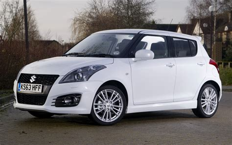 2013 Suzuki Swift Sport 5-door (uk)