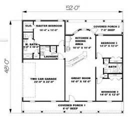 Genius 1500 Square Foot Floor Plans by Ranch Plan 1 500 Square 3 Bedrooms 2 Bathrooms