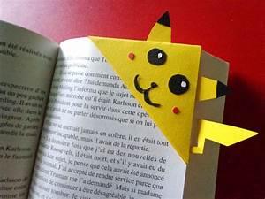 Marque Page En Papier : marque pages pok mon pikachu fait main s 39 adapte tous types de livres parfait pour un cadeau ~ Melissatoandfro.com Idées de Décoration