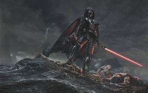 Digital, Art, Movies, Star, Wars, Drawing, Darth, Vader