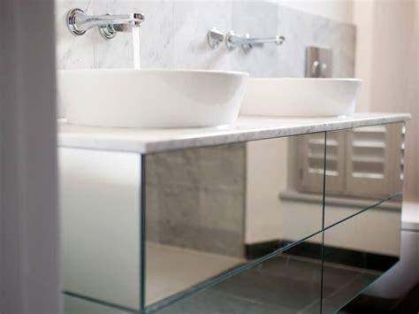 Modern Bathroom Vanity Units Uk by A Floating Mirrored Sink Unit Bath Bespoke