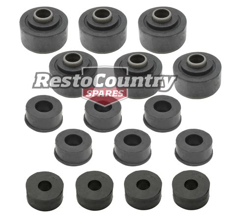 holden 1 ton tonner mount kit hq hj hx hz wb rubber bush chassis quality replacement