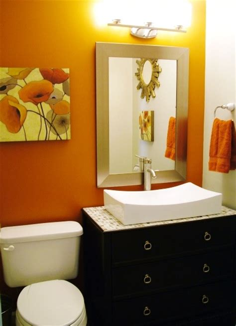 Decorating Ideas For An Orange Bathroom by 25 Best Ideas About Burnt Orange Bathrooms On