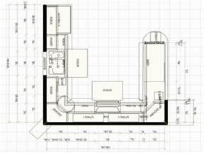 l shaped kitchen floor plans with island u shaped kitchen floor plans