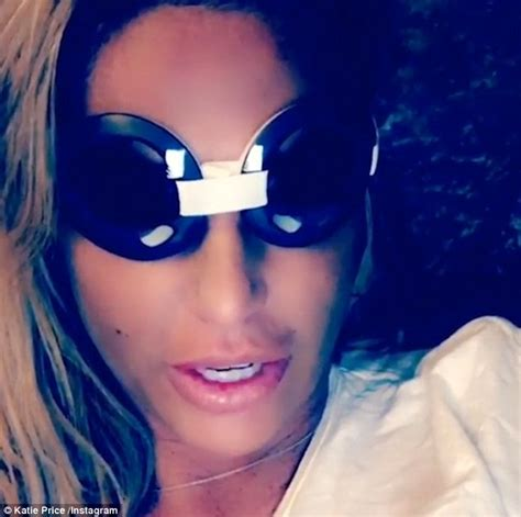 katie price sports surgical goggles declares