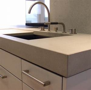 Gestaltungsbeispiele von oggi beton kuchenarbeitsplatte for Beton küchenarbeitsplatte
