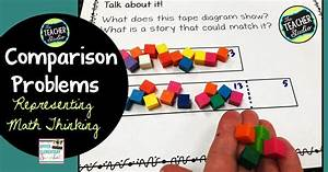 Comparison Problems  Using Tape Diagrams To Represent Math
