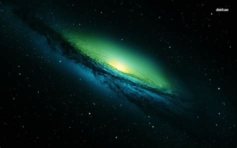 green galaxy wallpaper space wallpapers