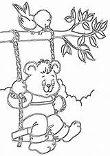Swing Coloring Pages Swing2 sketch template