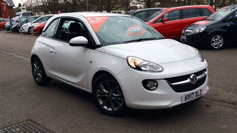 vauxhall adam price vauxhall adam adam unlimited 1 2i 3 door hatchback 2017