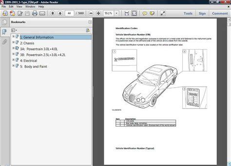1999 2000 2001 2002 2003 Jaguar S Type S-type Factory Oem