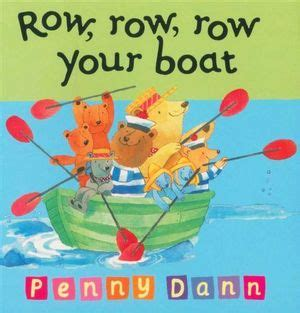 Row The Boat Book by Row Row Row Your Boat Orchard Toddler Books