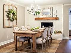 Is Anyone Else As Obsessed With The Hgtv Show Fixer Upper As I Am The The Valencia Formal Dining Room Collection 11378 Dining Room Lights Wine Bottle Chandelier Homey Designing The Dining Room In 1963 Kennedy Library