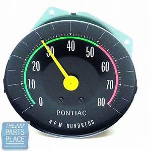 1965 Pontiac Gto Oe Factory Rpm Dash Tach Tachometer With