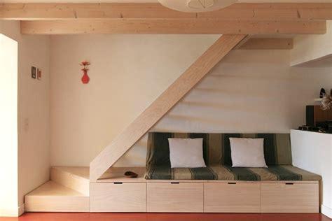minimal wooden stair dirk mayer