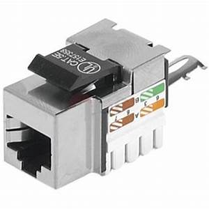 Fiche Rj45 Cat 6 : embase rj45 courte cad stp blind e connectique ~ Dailycaller-alerts.com Idées de Décoration