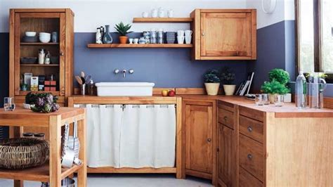 meuble de cuisine fly cuisine de cagne chic bois bassdona