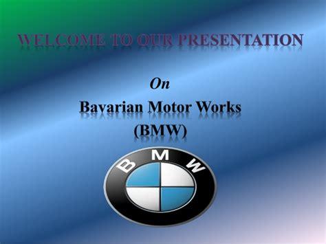 bmw  powerpoint