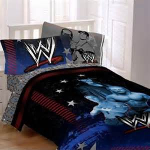 wwe main event 4pc twin comforter and sheet set
