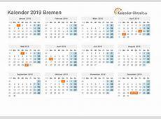 Feiertage 2019 Bremen + Kalender