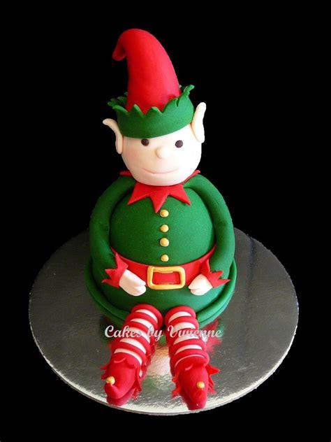 christmas elf cake cakecentralcom