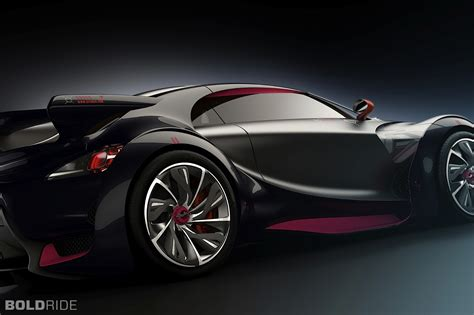 2010 Citroen Survolt Concept Supercar Supercars Wheel