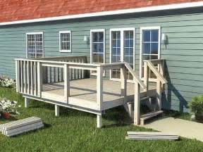 Mobile Home Deck Plans