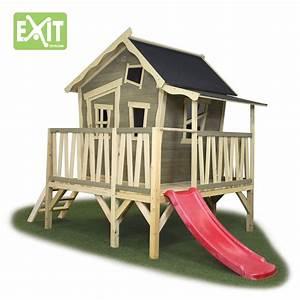 Spielhaus Für Den Garten : kinder spielhaus exit crooky 350 holzhaus stelzenhaus ~ Articles-book.com Haus und Dekorationen