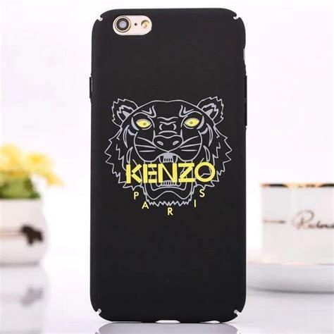 kenzo tiger iphone  case black
