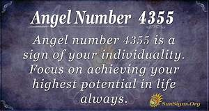 Angel Number 4355 Meaning