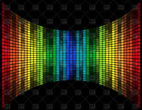 Graphic equalizer - music frequency digital display Vector Image #41687 – RFclipart